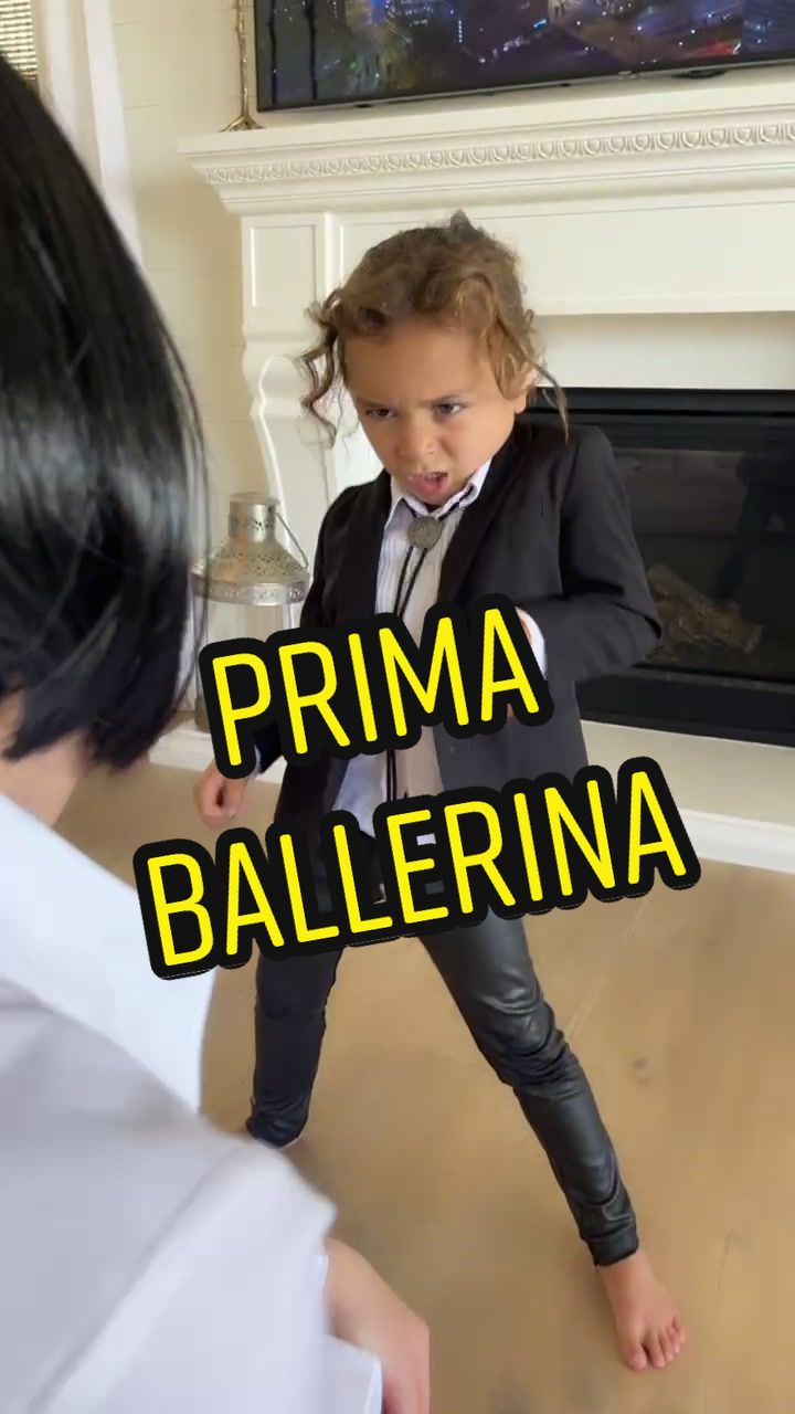 Video with title 'When Prima Ballerina @tilerpeck #nycballet stops by! #youcanreallydance #besties #balletdancers #lifeisgood #summerschool #goodpoint #bossbabybrody'