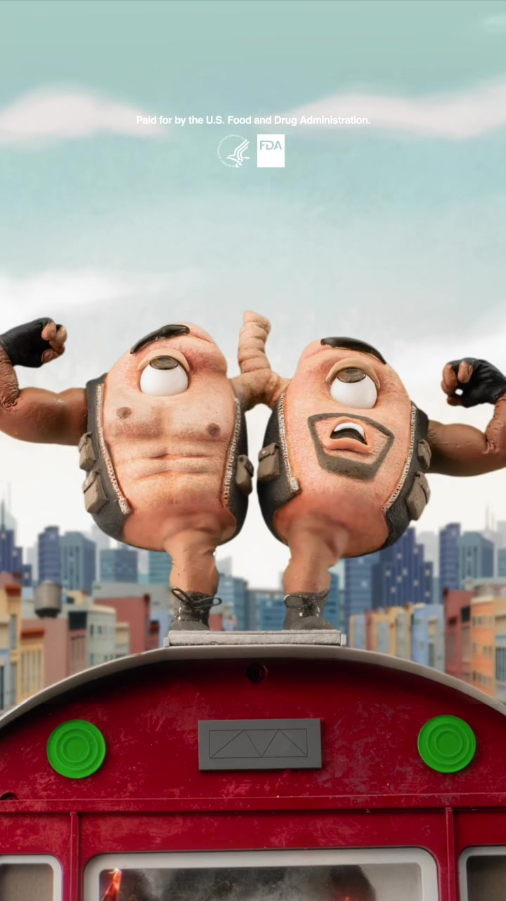 Video with title '#ad Little Lungs + T Crews Lungs + crazy stunt = blockbuster'