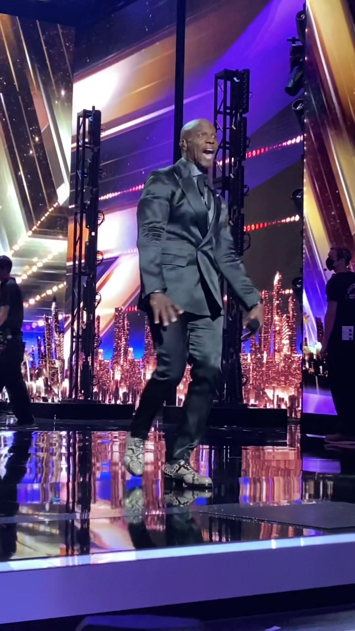 Video with title 'Always ready for this song! The perfect @agt audience hype song! 💪🏾'